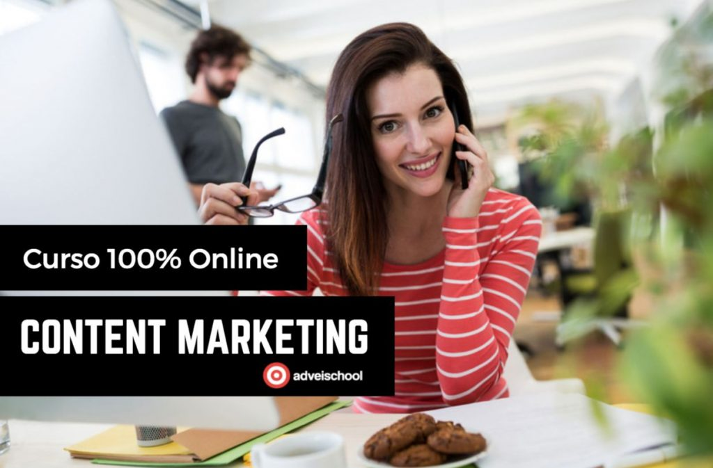 Programa y Curso Content Marketing Online 4 meses 120hs