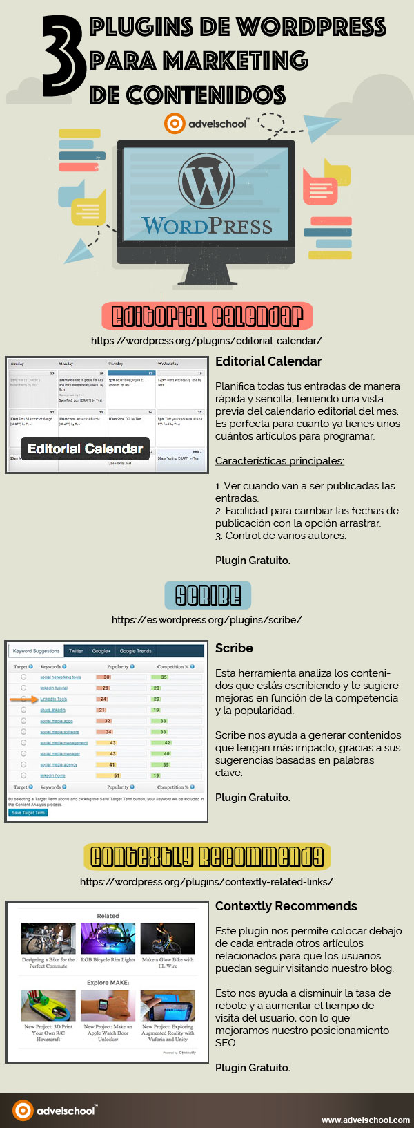 plugins de WordPress para Marketing de Contenidos