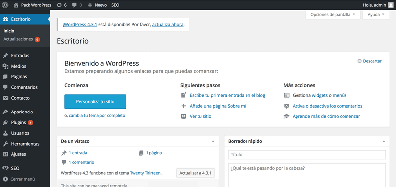 Cómo instalar Wordpress vía FTP con Filezilla